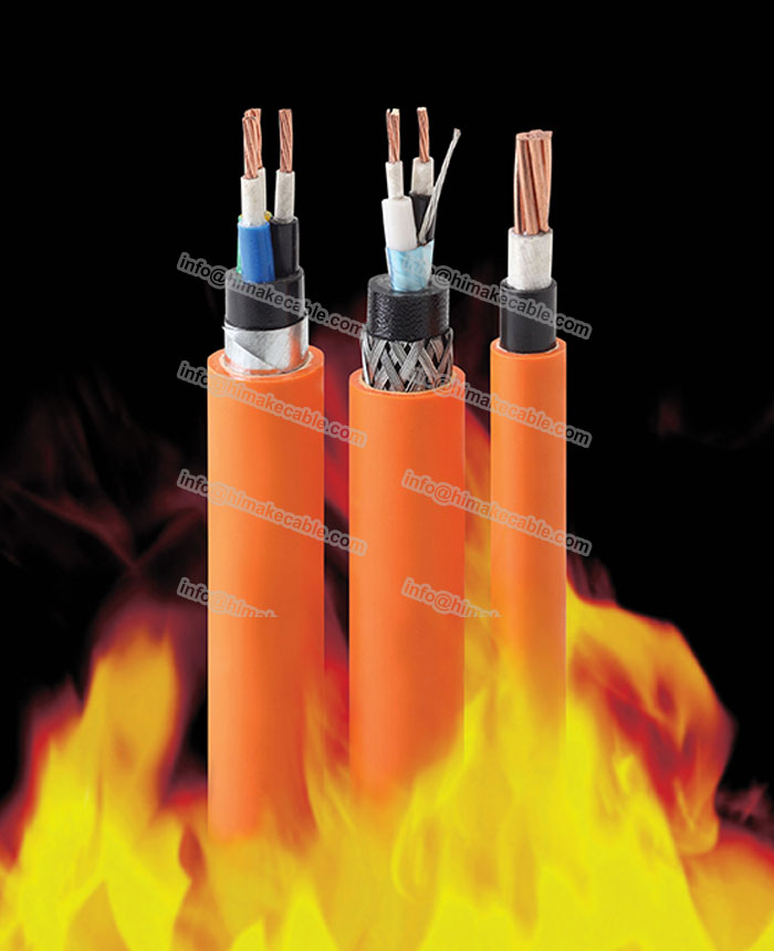 shielded fire rated cable