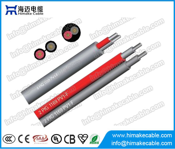 2 cores solar cable