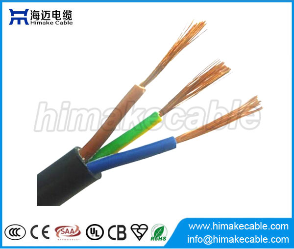 3 core flexible cable