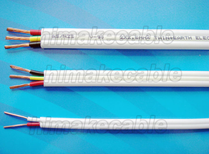 PVC insulated and sheathed PVC Flat TPS Cable 450/750V - China ...