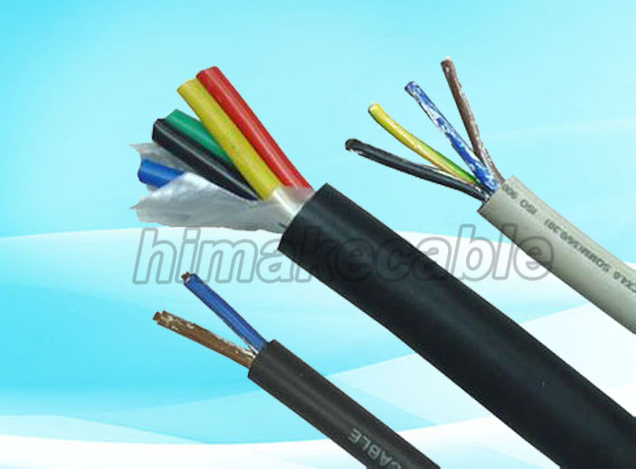 Multi-cores LZSH insulated and sheathed Electrical Wire Cable 300 ...