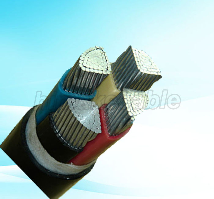 aluminum PVC power cable