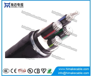 Aluminum conductor Steel tape armored XLPE insulated Power Cable 0.6/1KV