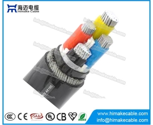 Aluminum conductor Steel wire armored XLPE insulated Power Cable 0.6/1KV