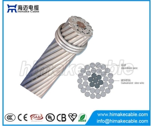 Bare conductor ACSR Aerial Cable Aluminum Conductor Steel Reinforced Conductor