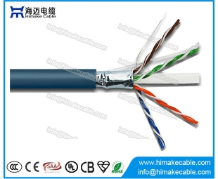 Venta de la fábrica de transmisión de señal digital fucntion cable de red Cat6 hecho en China