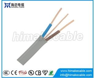 25 M de 1.5 mm Twin y tierra Electic Cable para la iluminación de cableado