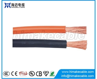 Flexible welding cable strand copper conductor AC200V