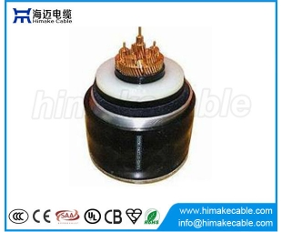 HV XLPE insulated corrugated Aluminum sheath Power Cables with rated voltages 50/66KV 64/66kV