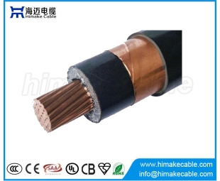 MV Single core Copper  XLPE insulated Copper tape shielded Power Cable with voltage 6/6KV  6/10KV