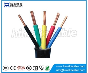 Multi-cores PVC insulated and sheathed Electrical Wire Cable 300/500V 450/750V
