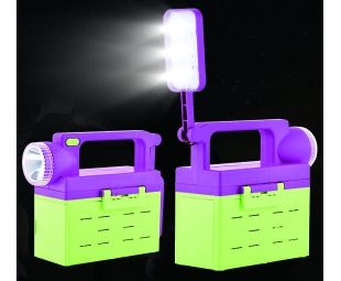 New energy multi-function LED light for field help and emergency use