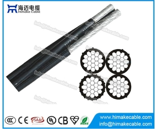 Overhead Aluminium conductor Aerial Bounded Cable Recline cable