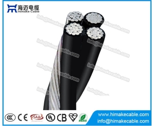 Overhead Cable ABC Aerial Bounded Cable Quadruplex Service drop cable