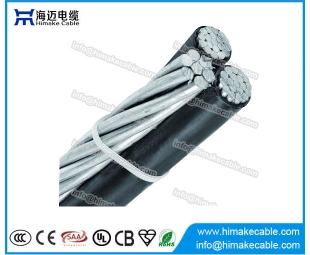 Overhead Cable ABC Aerial Bounded Cable Triplex Service drop cable
