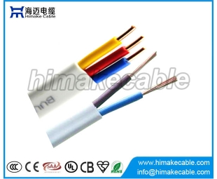 PVC Insulated and sheathed Flat Electrical Wire Cable 300/500V 450/750V
