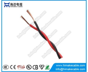 PVC insulated Flexible Twisted Electrical Wire/Cable 300/300V (soft twisted cord)