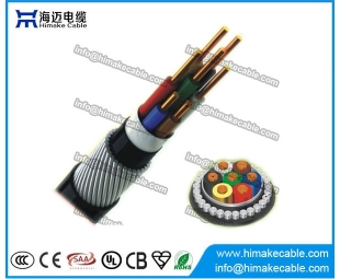 PVC insulated Steel Wire Armored Control Cable 450/750V 0.6/1KV