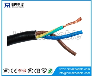 PVC  insulated and sheathed Flexible Electrical Wire Cable 300/500V