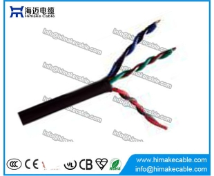 PVC insulated and sheathed Flexible Twisted Electrical Wire Cable 300/300V