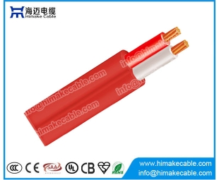 Red flat or circular fire alarm cable 250V/250V