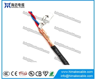 Screened LSZH insulated Flexible Twisted Electrical Wire Cable 300/300V