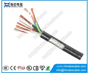 Screened PVC insulated Flexible Control Cable 300/500V CY SY