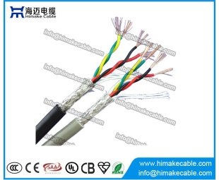 Screened PVC insulated Flexible Twisted Electrical Wire Cable 300/300V