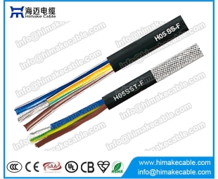 Silicone Rubber insulated and sheathed flexible cable H05SS-F H05SST-F 300/500V