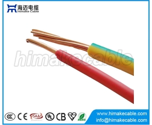 Single core PVC insulated unsheathed PVC Wire 0.6/1KV