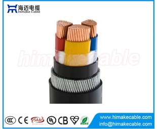 Steel wire armored PVC insulated Power Cable 0.6/1KV