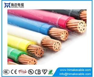UL 600V Copper conductor PVC insulated Nylon sheathed Electric Cable THWN THHN