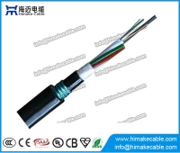 China 2-228 Kerne lose Rohr Verseilung Armored Cable GYTY53-Fabrik