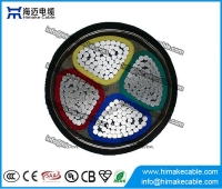 China Aluminum conductor PVC insulated Steel tape armored Power Cable 0.6/1KV factory