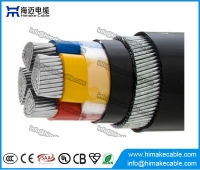 China Aluminum conductor PVC insulated Steel wire armored Power Cable 0.6/1KV factory