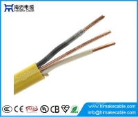 China Building wire PVC and Nylon insulation PVC jacket electric cable NM-B 600V factory