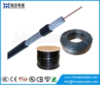 China China manufacture RG6 coaxial cable for CCTV CATV factory