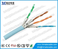 China FTP Cat6a cable BC conductor factory