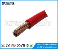 China Flame retardant single core PVC insulated electric wire cable 300/500V 450/750V factory