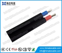 China Flat or round twin core Solar cable 2 PfG PV1-F 0.6/1KV factory