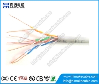 China Fluke passed 1000ft 4 pair solid utp cat 5e cable factory