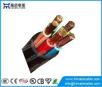 China High quality PVC insulated and sheathed copper power cable factory