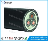 China MV Copper  XLPE insulated Power Cable with voltage 3.6/6KV to 26/35KV factory