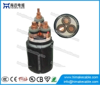China MV Copper  conductor Steel Tape Armoured Power Cable with voltage 3.6/6KV to 26/35KV factory
