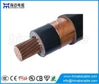China MV Single core Copper  XLPE insulated Copper tape shielded Power Cable with voltage 6/6KV  6/10KV factory