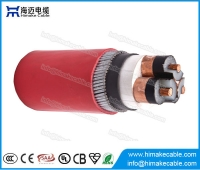 China MV Steel Wire Armoured LSZH Power Cable with voltage 3.6/6KV to 26/35KV factory
