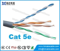 China Cat5e UTP kabel awg24 China fabriek netwerken voor LAN fabriek