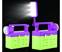 China New energy multi-function LED light for field help and emergency use factory