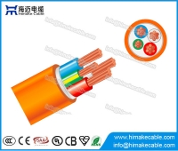 China PVC Circular Orange Cable 0.6/1KV factory