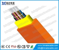 China Ribbon Indoor Optical Cable GJFDKBV (RBC) factory